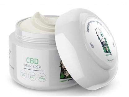 CBD denný krém Zelená Bába, 50 ml