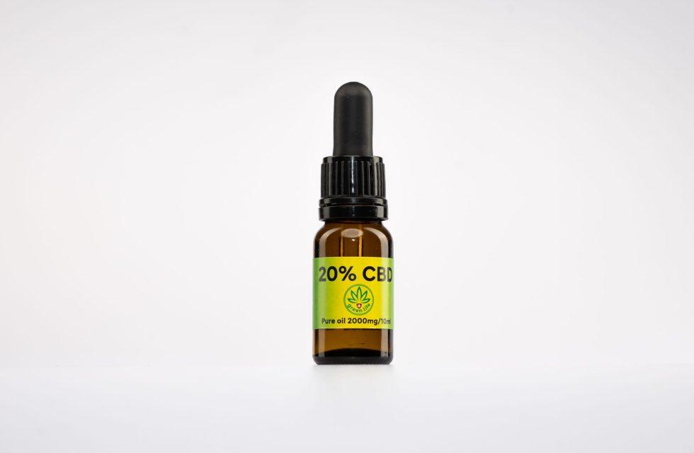 CBD kvapky GreenLife, 20% Broad Spectrum, 10ml