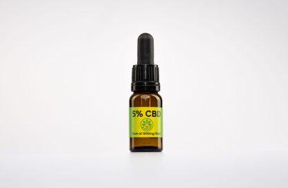 CBD kvapky GreenLife, 5 % CBD izolát, 10ml