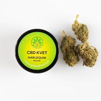 CBD kvety GreenLife, Herlequin, 2 g