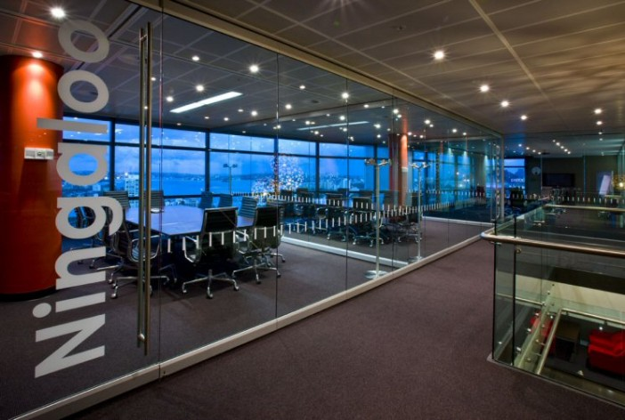 3 Floor A Grade Office Fitout Innovation Place Sydney Glass partitions and operable walls