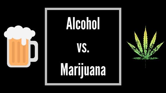 Marijuana vs. Alcohol