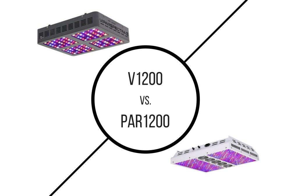 Viparspectra V1200 vs. PAR1200