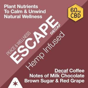 Strava Craft Coffee - Decaf Escape 60mg of CBD