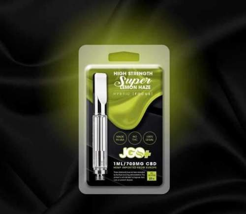 Super Lemon Haze Focus 700mg CBD Vape Cartridge