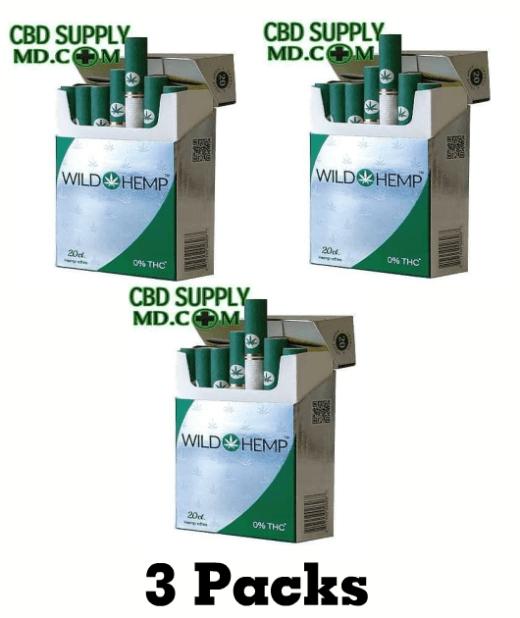 Hemp-Ettes CBD Cigarettes (3 Packs)