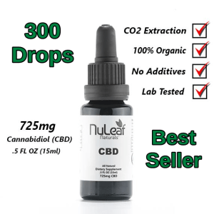 NuLeaf Full Spectrum CBD Oil 725mg