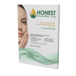 Honest Pharm Co. CBD Cellulose Face Mask (10mg)