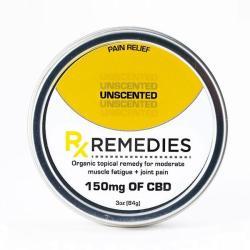Rub CBD Unscented 150mg - 3 oz