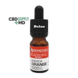 Full Spectrum CBD 500mg Orange Rx Remedies