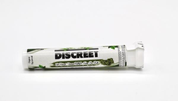 Discreet Energy 500mg CBD Hemp Pre Rolls Natural Flavor e1586214268477