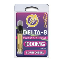 Delta 8 Cartridge 1000mg Sour Diesel
