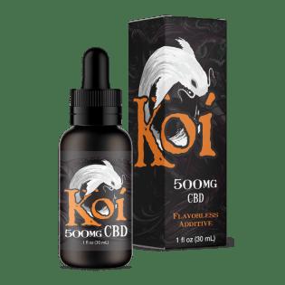 Koi CBD Vape Juice Flavorless Koi White