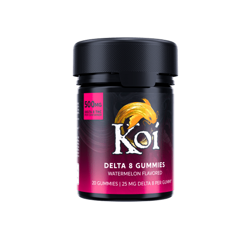 Koi Delta8 Gummie Watermelon 02
