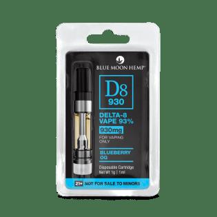 Delta 8 cartridge Blueberry OG