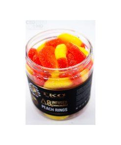 Delta 8 Infused Gummies TKO Peach Rings