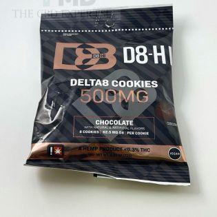 D8 HI Delta 8 THC Edible Cookies