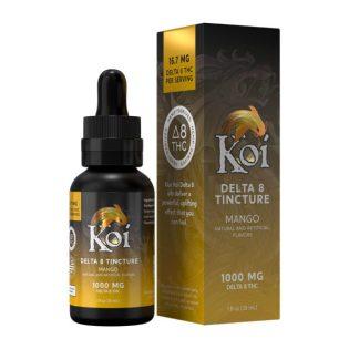 Koi Delta 8 THC Tincture Oil – Mango 1000mg