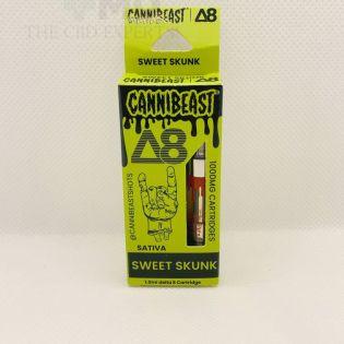 Cannibeast Delta 8 Cartridge 1000MG Sweet Skunk Sativa
