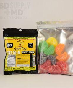 Delta-8 Moodtime Mixed Fruit Gummies