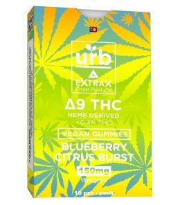 urb extrax blueberry citrus burst complaint delta 9