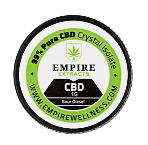 Terpenes Infused CBD Crystal Isolate (Empire Wellness). Choose between 19 different cannabis terpenes.