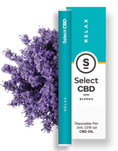 20% off CBD select lavender vape pen