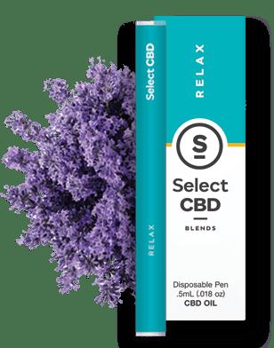 CBD select lavender vape pen 500mg