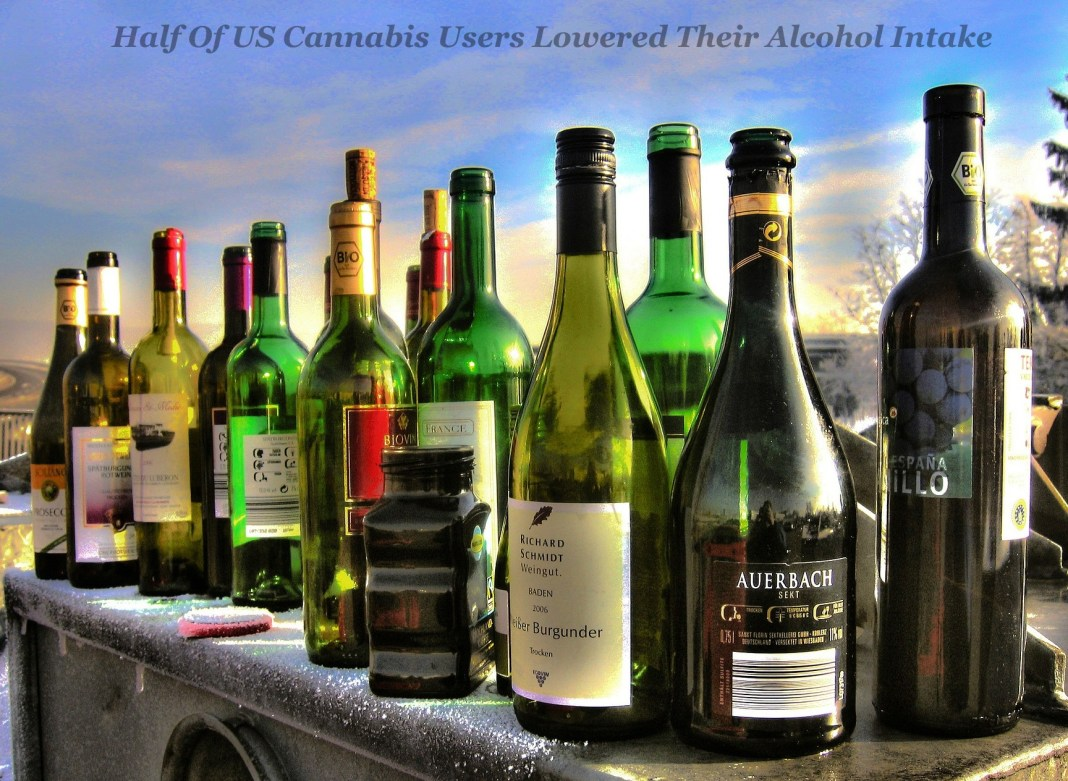 Half Of US Cannabis Users Lowered Their Alcohol Intake