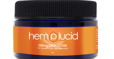 Top CBD Products: 50% discount on Hemplucids CBDA body lotion