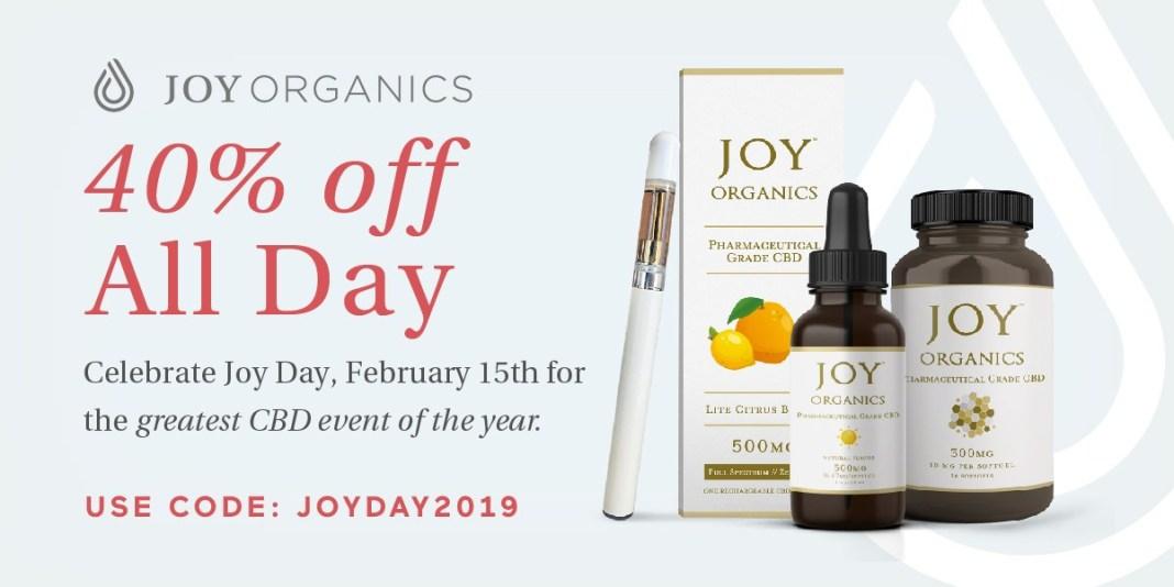 JoyDay 2019: joy organics sale