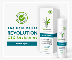 Now in CVS: OTC Registered CBD Pain Relief Products