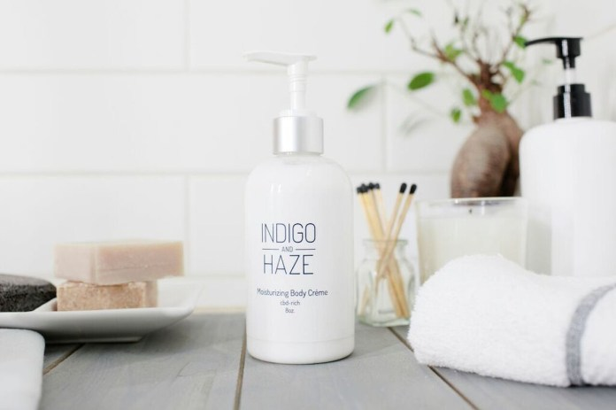 Indigo and Haze lotion CBD Today