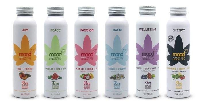 Mood33-Hemp Infused Herbal Tea Variety Pack-CBD products-CBDToday