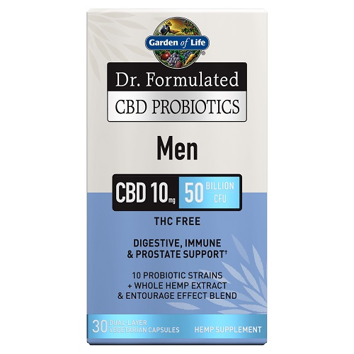 Garden of Life CBD Probiotics for Men-CBD products-Fathers Day-CBDToday