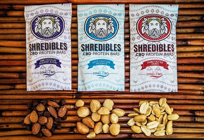 Shredibles CBD Protein Bars-packaged-CBD products-CBDToday