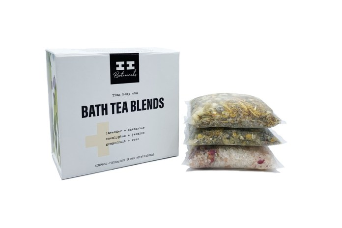 I+I Botanicals Bath Tea Blends-CBD products-CBDToday
