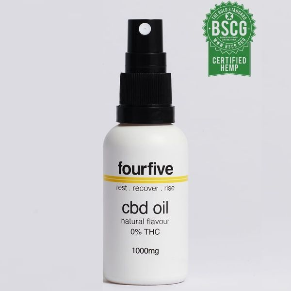 Fourfive 0% THC CBD OIL