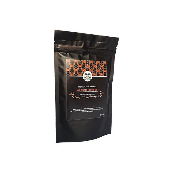 Hemp Cart 100mg CBD Ground Coffee 100g Bag