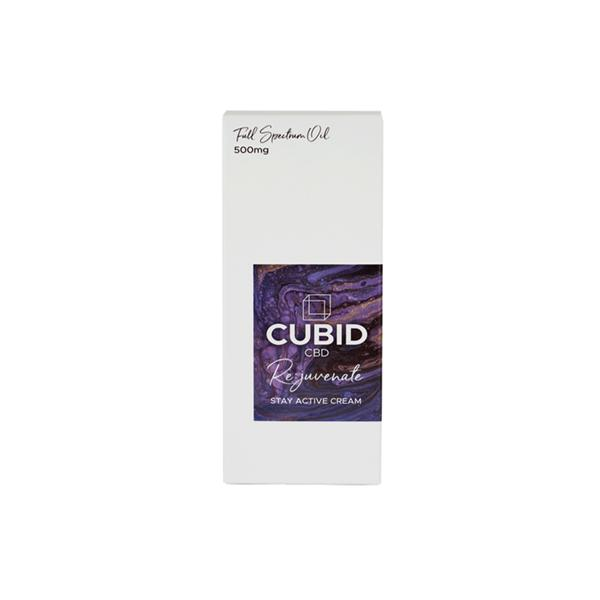 Cubid CBD 500mg Rejuvenate 100ml Stay Active Cream