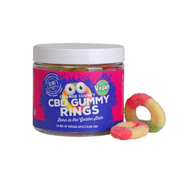 CBD Gummy Rings - Vegan