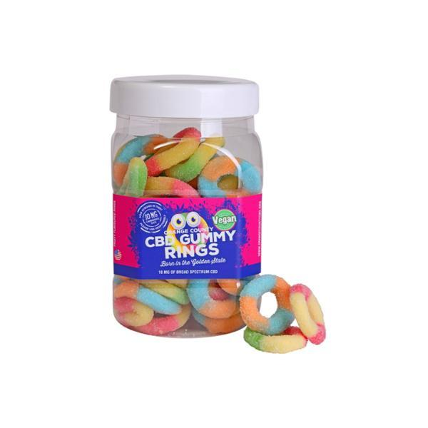 CBD Gummy Rings - Vegan