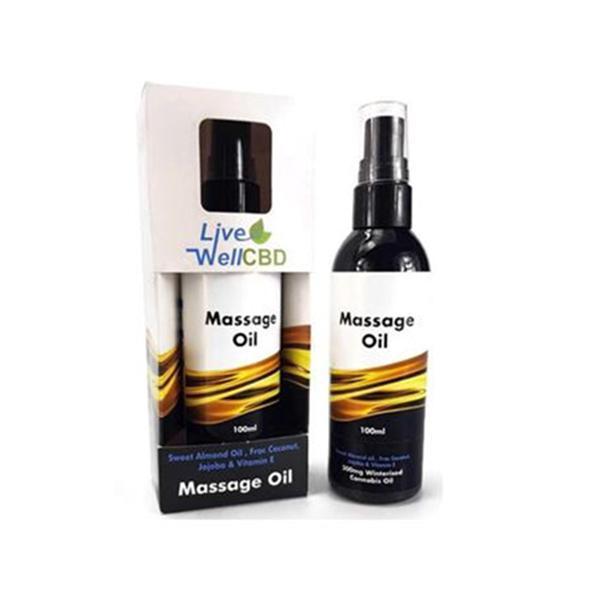 LiveWell CBD Massage Oil