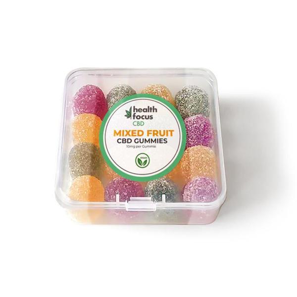 Mixed Fruit CBD Gummies