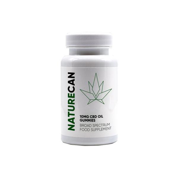 Naturecan 10mg CBD Oil Gummies Broad Spectrum Food Supplement