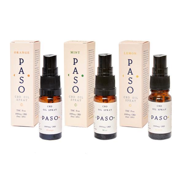 Paso CBD Oral Oil Spray 1000mg (10ml)