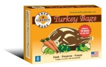 "A pack of 18""x20"" turkey bags"