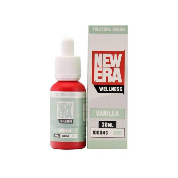 New Era Wellness CBD 1000mg _ Vanilla