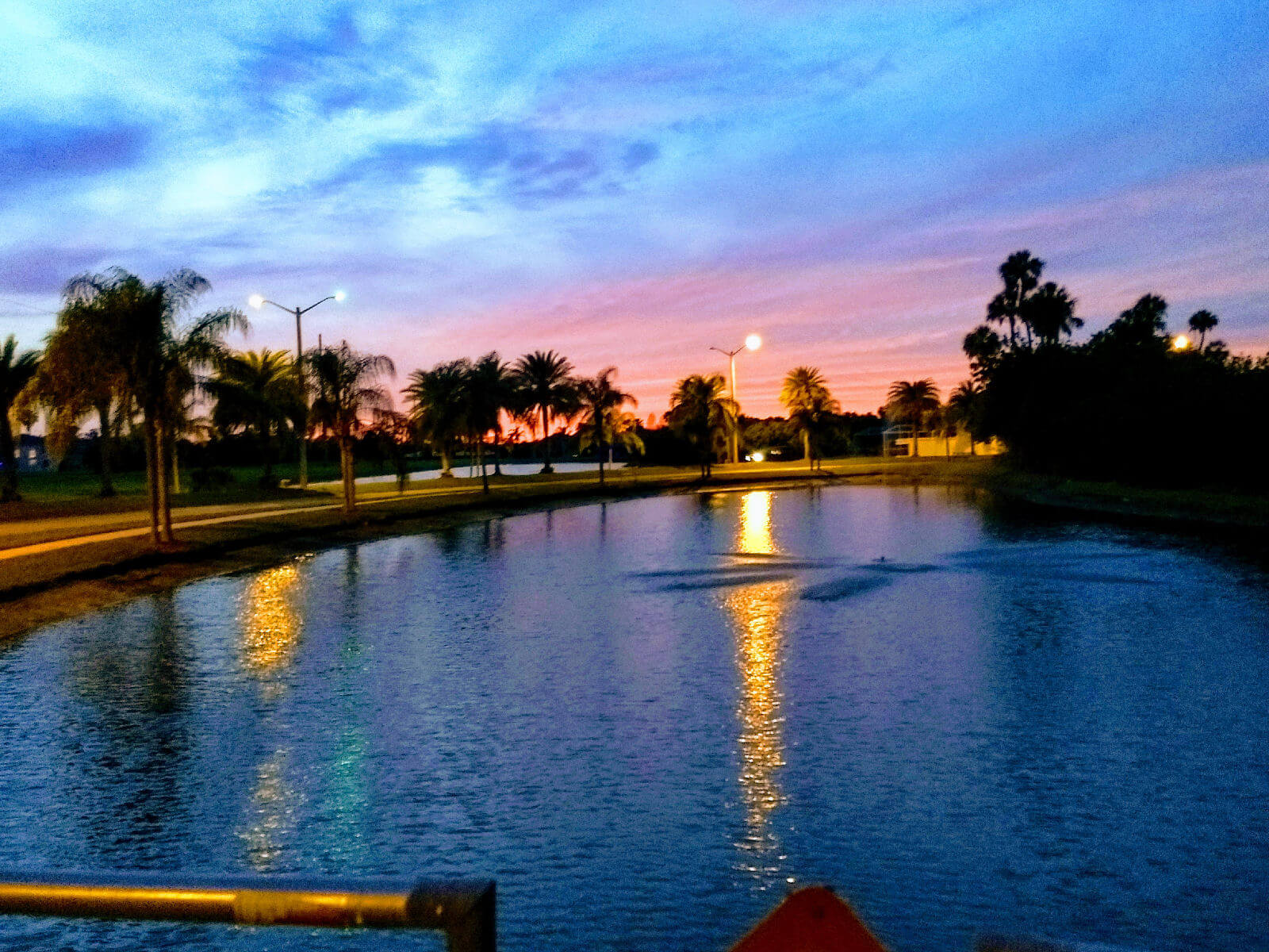 Sunset at the Clubhouse