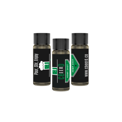 CBeerD Hemp Shot 3 Pack Photo